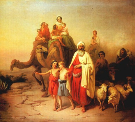 Abram leaves Haran